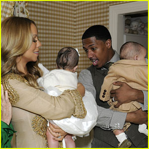 Mariah Carey & Nick Cannon: Roc & Roe's First Pictures!