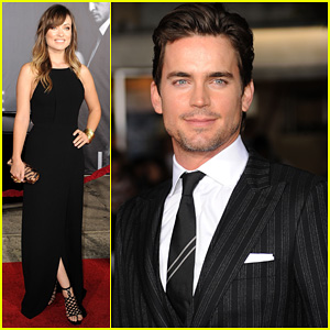 Matt Bomer: 'In Time' L.A. Premiere with Olivia Wilde!