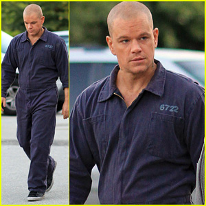 Matt Damon: 'Elysium' Prison Break