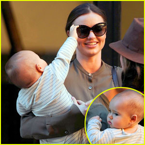 Miranda Kerr: Flynn Tries to Grab Mom's Sunglasses!