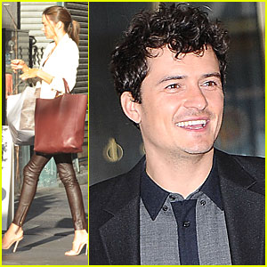 Miranda Kerr &#038; Orlando Bloom: Manhattan Mates