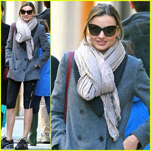 Miranda Kerr Keeps Fit!