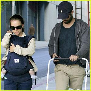 Natalie Portman & Benjamin Millepied: Farmer's Market with Aleph!