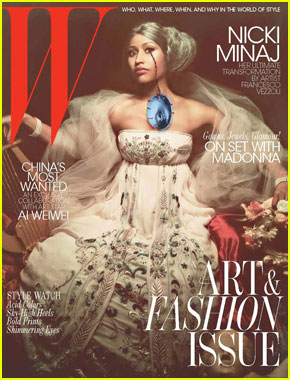 Nicki Minaj Covers 'W' November 2011