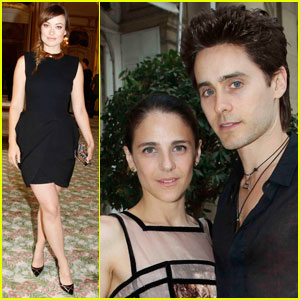 Olivia Wilde &#038; Jared Leto: 'Harper's Bazaar' Party!