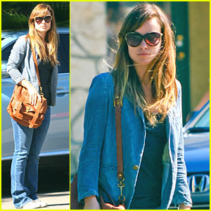 Olivia Wilde 'Choked Up' After Last 'House' Episode