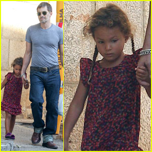 Olivier Martinez & Nahla: Strolling in Spain