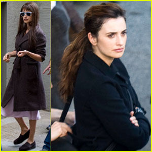 Penelope Cruz: Roman Workday