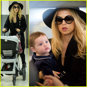 Rachel Zoe: LAX Landing With Baby Skyler!