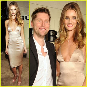 Rosie Huntington-Whiteley: Burberry Body Host!