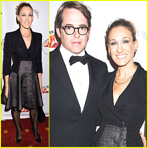 Sarah Jessica Parker: NY City Center with Matthew Broderick!