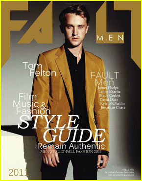 Tom Felton Covers 'Fa