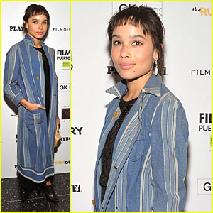 Zoe Kravitz: 'Rum Diary' Premiere at Museum of Modern Art!