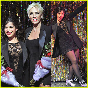 America Ferrera: 'Chicago' Performance Pics!