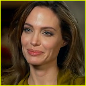 Angelina Jolie Opens Up to '60 Minutes'