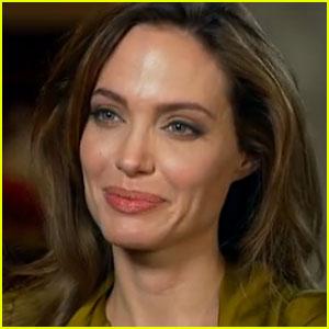 Angelina Jolie Opens Up