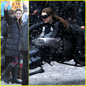 Anne Hathaway: Catwoman in New Jersey!