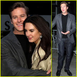 Armie Hammer: Good Morning America!