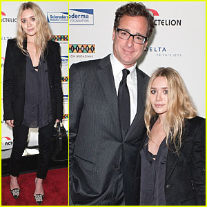 Ashley Olsen & Bob Saget Reunite at Caroline's