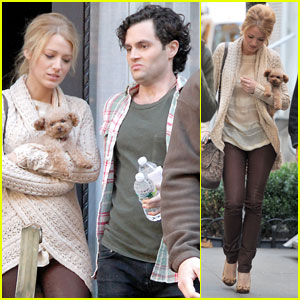 Blake Lively: 'Gossip Girl' With Penny & Penn Badgley!