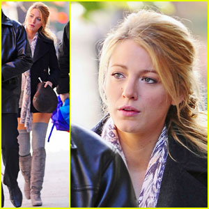Blake Lively: Thigh-High In Harlem