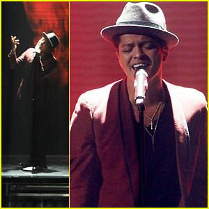 Bruno Mars: 'It Will Rain' on 'X Factor'!