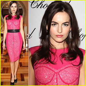 Camilla Belle: Chopard Boutique Opening!