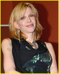 Courtney Love Strips on Stage