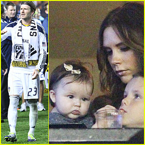 David Beckham: L.A. Galaxy Wins MLS Cup!