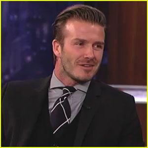 David Beckham: Jimmy Kimmel Live!
