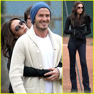 Victoria & David Beckham: Soccer Love!