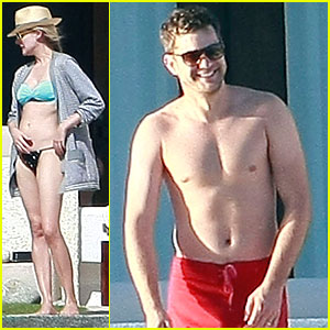 Joshua Jackson & Diane Kruger: Cabo for Thanksgiving Weekend!