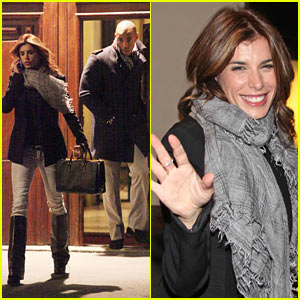 Mehcad Brooks & Elisabetta Canalis: Risacca Dinner Date!