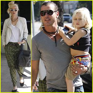 Gwen Stefani & Gavin Rossdale: Sunny Monday with Zuma!