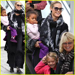 Heidi Klum: Saturday Ballet with Leni & Lou!