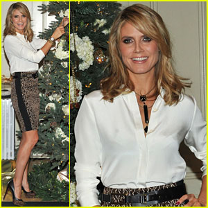 Heidi Klum: Wildlife Jewelry Collection for QVC!