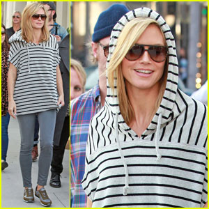 Heidi Klum: New Balance Shoot on Rodeo!