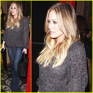 Hilary Duff: Dinner with Haylie &#038; Mike!