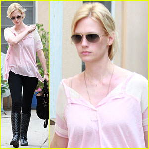 January Jones & Xander: Doctor's Office Visit
