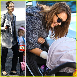 Jessica Alba & Cash Warren: Family Sunday Fun!