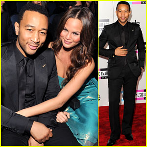 John Legend &#038; Chrissy Teigen - AMAs 2011!