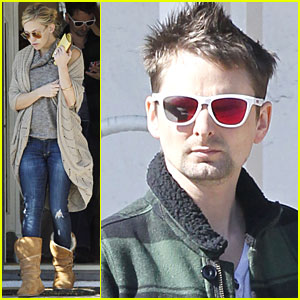 Kate Hudson & Matt Bellamy Go Furniture Shopping
