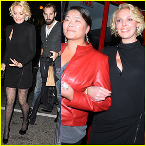 Katherine Heigl: Birthday Dinner with Josh Kelley!