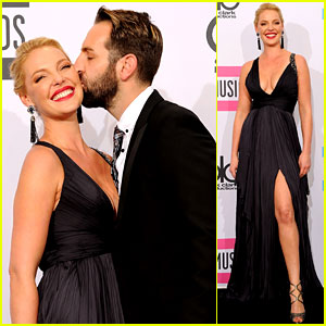 Katherine Heigl & Josh Kelley - AMAs 2011 Presenters!