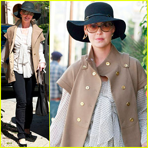 Katherine Heigl: Halloween Day Errands!