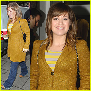 Kelly Clarkson: BBC Radio One Visit!