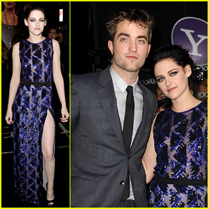 Kristen Stewart &#038; Robert Pattinson: 'Twilight' Premiere Twosome!