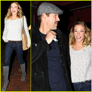 LeAnn Rimes: 'Perfect Night Out' with Eddie Cibrian!