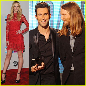 Maroon 5 - AMAs 2011 Winners!