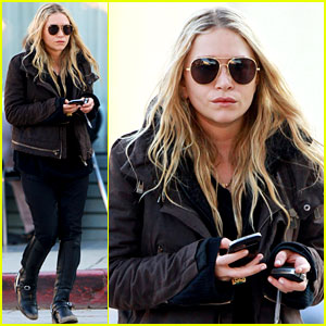 Mary-Kate Olsen Lunches in West Hollywood